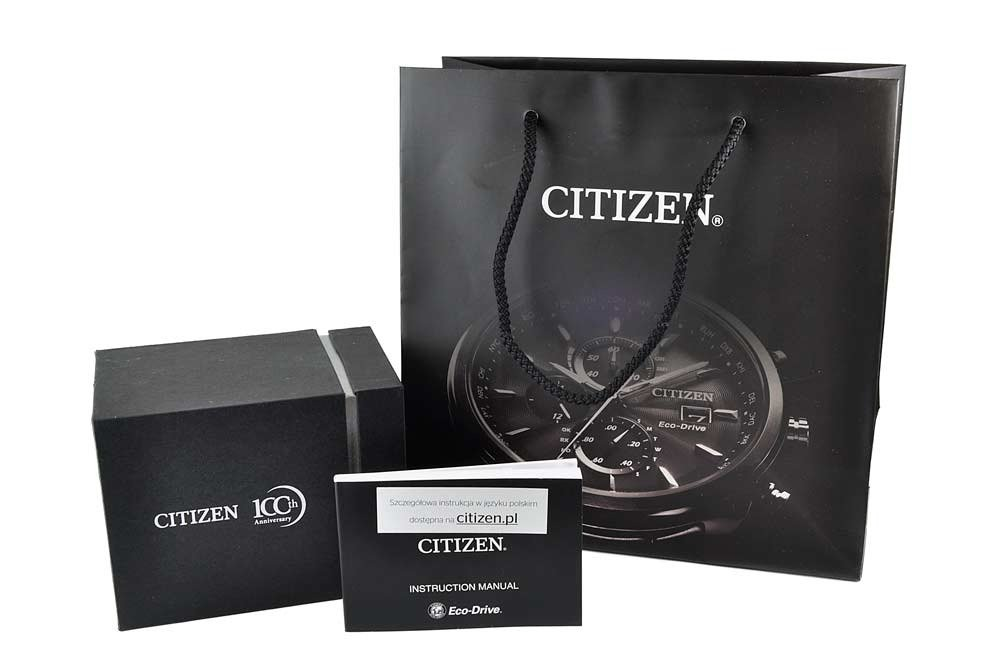 Zegarek męski Citizen Leather BD0043-08B