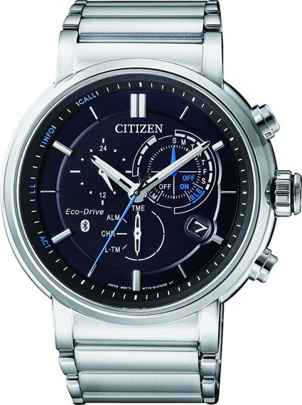 Zegarek męski Citizen Bluetooth Eco-Drive Smartwatch BZ1001-86E