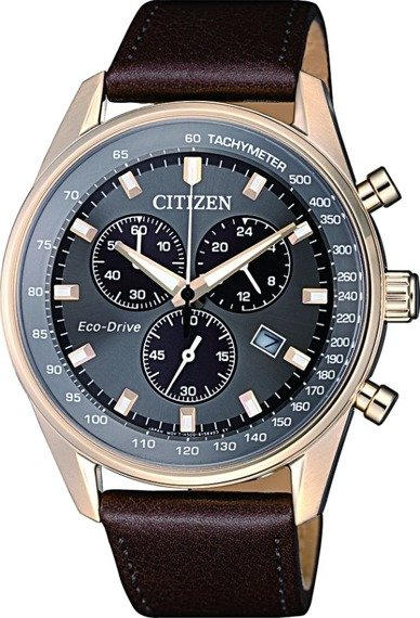 Zegarek męski Citizen Chrono Eco-Drive AT2393-17H