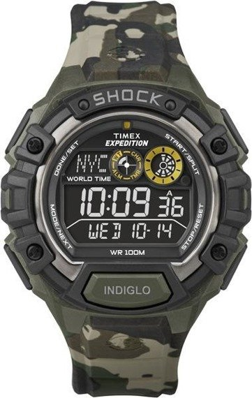 Zegarek męski Timex Expedition Shock Resistant T49971