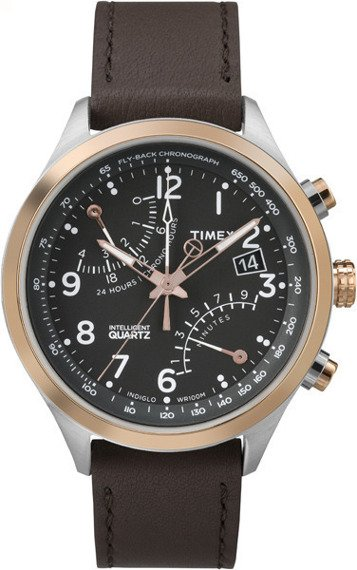 Zegarek męski Timex Intelligent Quartz Fly-Back Chronograph TW2P73400